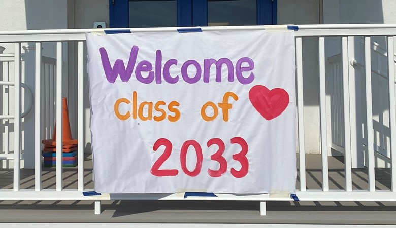Welcome class of 2033