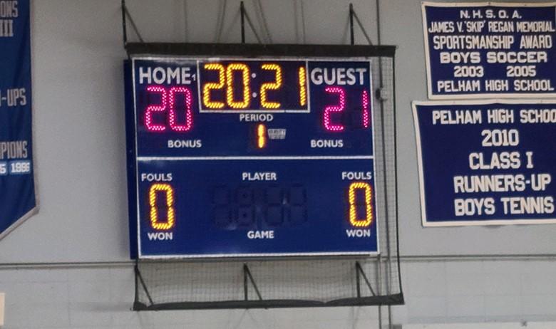 Gym scoreboard